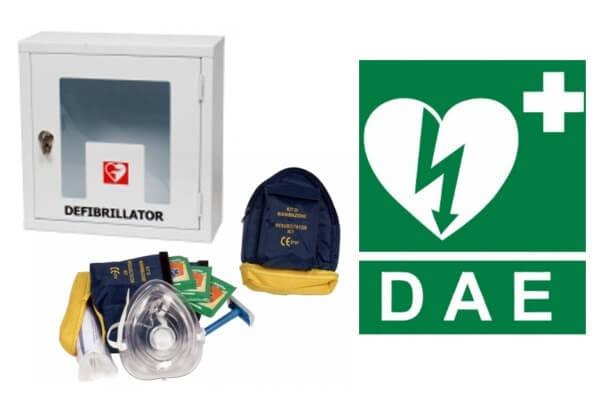 Armadietto per il defibrillatore, totem per il defibrillatore, accessori per il defibrillatore